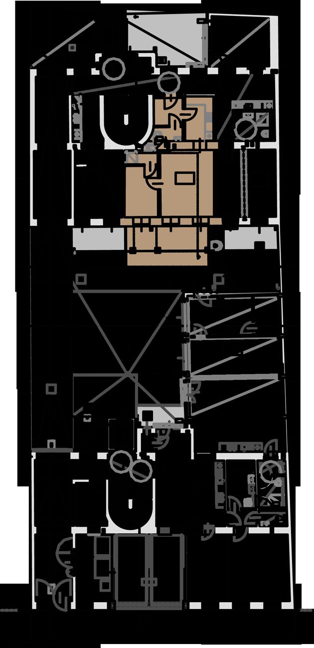 Lageplan Wohnung Top 2 Stiege 2