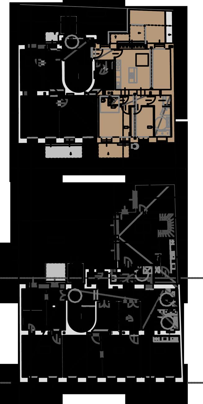 Lageplan Wohnung Top 5 Stiege 2