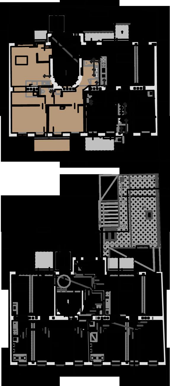 Lageplan Wohnung Top 8 Stiege 2